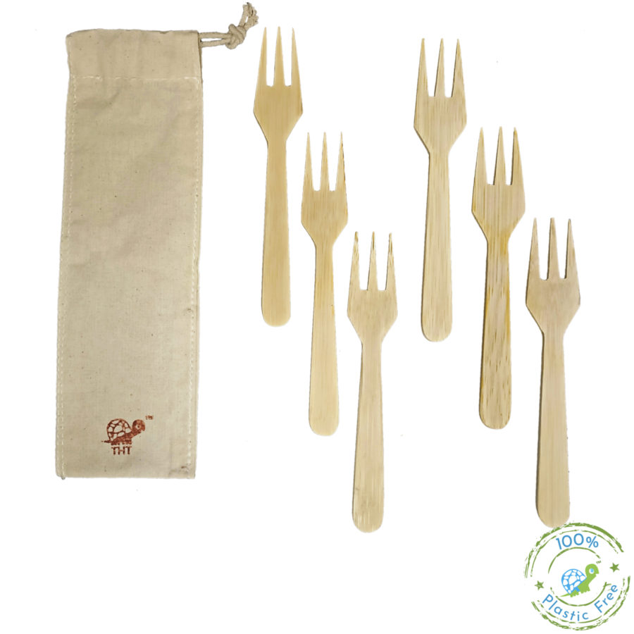 Green-On-The-Go Cutlery Kit (With Bamboo Straw)